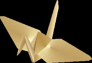 折り鶴イメージ