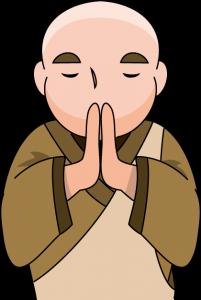 読経供養を行う僧侶イメージ